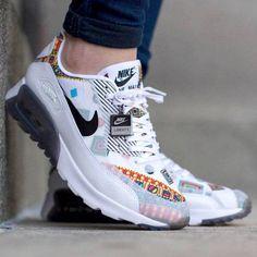 online store 23359 4db2b Chaussures Nike Sportswear AIR MAX 90 PREMIUM - Baskets basses - oatmeal  sail khaki