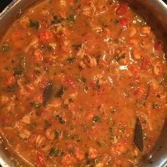 this a teriffic recipe - Crawfish Etouffee Recipe courtesy Emeril Lagasse (stewed fruit recipes) Seafood Soup Recipes, Crawfish Recipes, Cajun Recipes, Cooking Recipes, Haitian Recipes, Donut Recipes, Fruit Recipes, Shrimp Recipes, Copycat Recipes