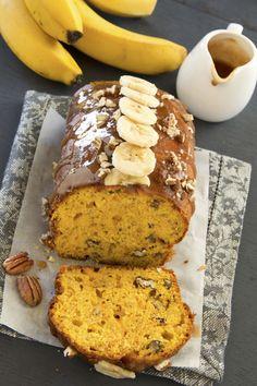Pumpkin and Banana Bread - thebestglutenfreerecipes.com