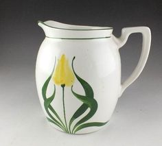 Steubenville China ceramic pitcher by VintagebyViola on Etsy, $19.00