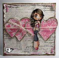 Go fall in love with Heartsy Mae, our new Featured Digi! - Some Odd Girl Blog
