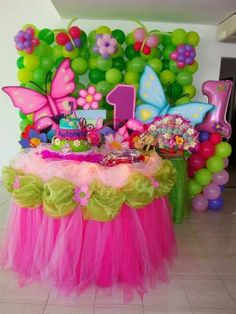 Discover thousands of images about Ice Cream cone table decoration using balloons Butterfly Birthday Party, Trolls Birthday Party, Fairy Birthday, Baby 1st Birthday, Birthday Party Decorations, First Birthday Parties, Baby Party, Balloon Decorations, Table Decorations