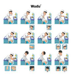 Illustration about Muslim Ablution or Purification Ritual Guide Step by Step Using Water Perform by Boy Vector Illustration. Illustration of islam, description, illustration - 69925833 Wudu Steps, Language Activities, Activities For Kids, Umrah Guide, Best Islamic Quotes, Sequencing Pictures, Islamic Posters, Islam For Kids, Islamic Wall Art