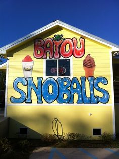 12 of the Most Memorable Snowball Stands From Around Louisiana There's only one place in the world where you can get a true old-style snowball–Louisiana. We're the central home of this delicious treat. Everyone who grew up in this state knows how spe