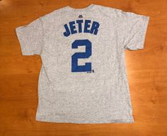 f76431235 Vintage 1990s Derek Jeter New York Yankees T-Shirt tee jersey mariano  rivera david cone wells giancarlo stanton bernie williams world series