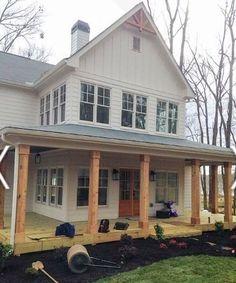 46 modern farmhouse porch decor ideas