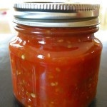 Canning Homemade Salsa, and more jelly and sauce....