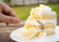 Do you know the difference between white and yellow cake, and also vanilla cake? We settle the cake mix debate, once and for all. Fondant, Rich Cake, Different Cakes, Cake Tasting, Yellow Cake Mixes, Cake Ingredients, Savoury Cake, Vanilla Cake, Baked Goods