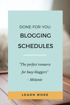 Looking for a weekly blog schedule with blogging routines and checklists? Look no further! These done-for-you blogging schedules are perfect if you want to grow a money making blog. #bloggingschedule #bloggingprintable