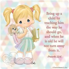 Precious Moments Quotes And Sayings Precious Moments Quotes, Precious Moments Figurines, Bible Scriptures, Bible Quotes, Card Sentiments, My Precious, Christian Quotes, Coloring Pages, Prayers