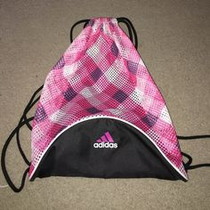 Sports Bag Drawstring adidas sports bag. Only used a handful on times and still in great condition! Adidas Bags Backpacks