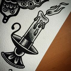 ... --traditional-candle-tattoo-traditional-tattoo-sleeve.jpg