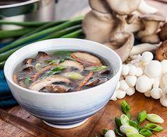 soupe miso thaï