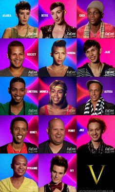 Season 5 contestants of Rupaul's Drag Race: out of drag