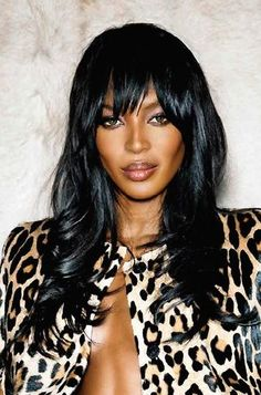 Naomi Campbell Hair, Celebs, Celebrities, Female Characters, Get The Look, Supermodels, Hair Color, Feminine, Skin Care