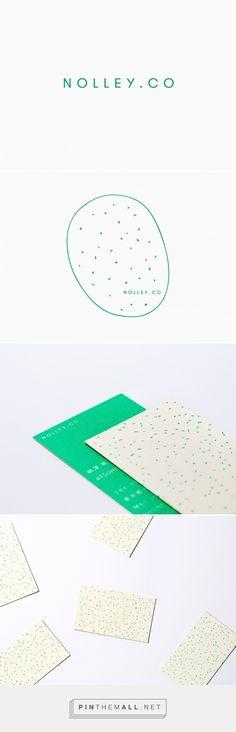 Branding by NSSG for NOLLEY.CO, a freelance web designer based in Tokyo. The Design Blog - Design Inspiration