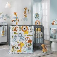Happi Jungle 4-Piece Bedding Set - Online Baby Store Canada - Bô Bébé
