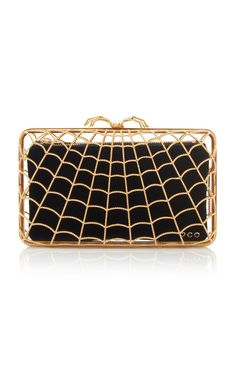 Artemis Clutch by Charlotte Olympia Fall Winter 2018 Fashion Heels, Hello Gorgeous, Artemis, Charlotte Olympia, Black Metal, Zip Around Wallet, Pouch, Fancy, Purses