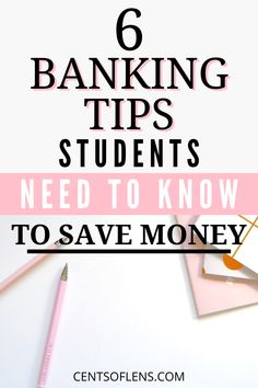 Are you a student who wants to know how to save more money? Did you know that good banking habits are vital to helping you develop good spending habits? College Student Budget, College Life Hacks, Scholarships For College, College Students, College Savings, College Checklist, College Dorms, College Tips, Student Life
