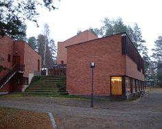 Alvar Aalto - Saynatsalo Town Hall, Finland, 1952