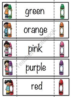 Color Fun Printable ~ Preschool Printables