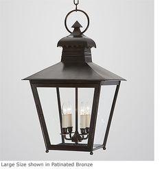 Hanging Tapering Genghis Lantern HL 244