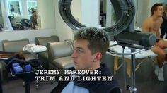Jeremy Rohmer (Trim and Lighten) . America's Next Top Model, Cycle 20: Guys & Girls > Makeovers