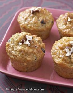 Muffins aux topinambour