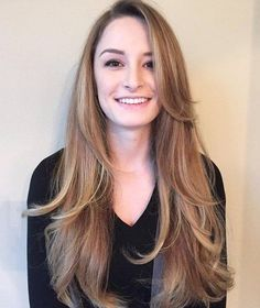Most Trending Long Hairstyles of 2016Long layered with highlights