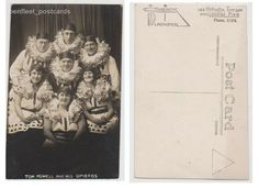 Early Postcard,Lancashire, Blackpool Central Pier,Tom Howell And His Opieros,RP