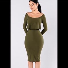 dc1f9c1144a2 Great Summer Buy Off The Shoulder Midi Dress Looks Perfeitos, Look Com  Calça, Corpo