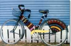 Crocheted Bicycle Covers