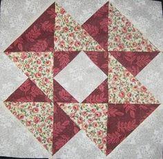 Resultado de imagem para bloco de patchwork passo a passo
