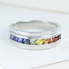 Popular blog Equally Wed featured gay wedding rings by Equalli