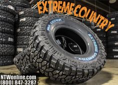 National Tire & Wheel Dick Cepek Extreme Country tires offer better handling and top-performance off-roading for an all-around quieter ride. 4x4 Tires, Rolling Resistance, Truck Mods, Cars Land, Dodge Power Wagon, Truck Wheels, Ford Trucks, Jeeps, Mud