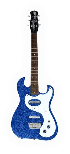 Danelectro D63-BLUMF '63 Dano Electric Guitar - Blue Metal Flake