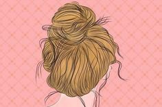 how to create the perfect messy bun in three quick and easy steps.
