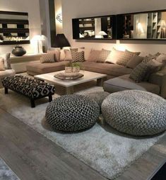 ideas home cozy living room lights Cozy Living Rooms, Home Living Room, Apartment Living, Interior Design Living Room, Living Room Designs, Living Room Decor, Living Room Layouts, Modern Interior, Media Room Design
