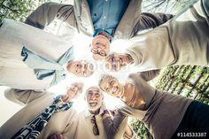 Senior people portrait