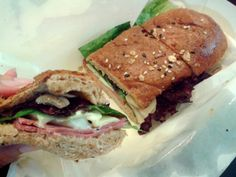 Best sandwich in town. From Mom's Bakery, Bandung,Indonesia.