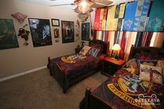 Оформление детской комнаты для девочки в стиле Гарри Поттер