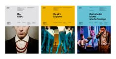 National Academy of Theatre Arts in Kraków on Behance Graphic Design Typography, Branding Design, Brochure Design, Logo Branding, Flyer Design, Campaign Posters, Campaign Ideas, Magazine Cover Design, Magazine Covers
