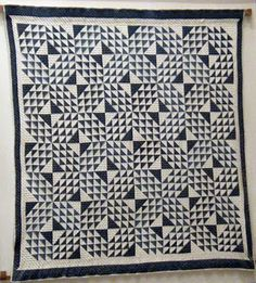 """Check out my blog post about these amazing """"Two Color Quilts"""" I found at """"The Mathematical Tourist"""" blog."""