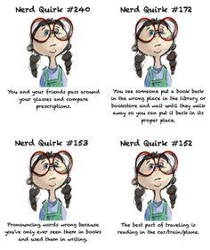 nerd quirks list - Bing Images