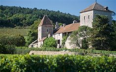The Chateau of Gevrey-Chambertin in France