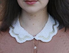 Pearls collar