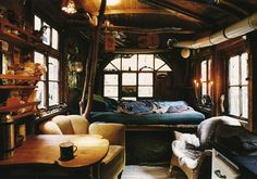 This would be so cool to have as a place to get away