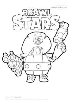 el rudo | brawl stars coloring page brawlstars brawlstarsmemes coloringpages brawlstarspro