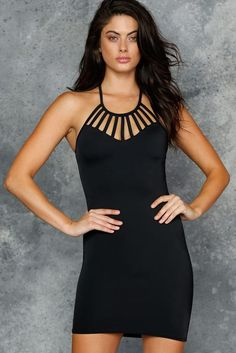 The Awesome Strapped Up Dress - LIMITED