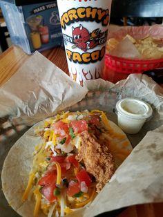 Torchey'a Tacos Trailer Trash, extra trashy.